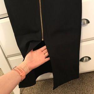 Iris Basic Skirts - Zip front pencil skirt